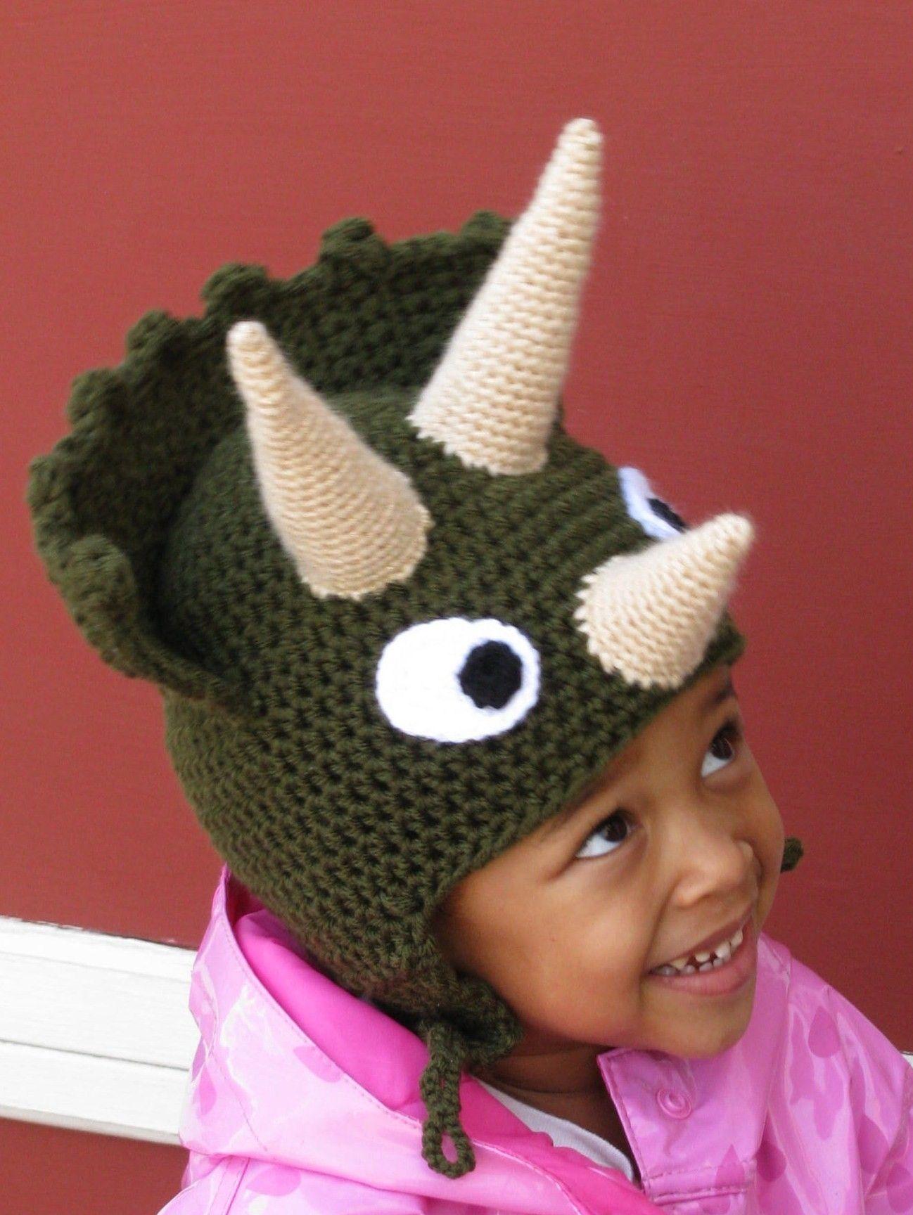 Triceratops Hat - Choose Your Colors | Pinterest | Kostüm