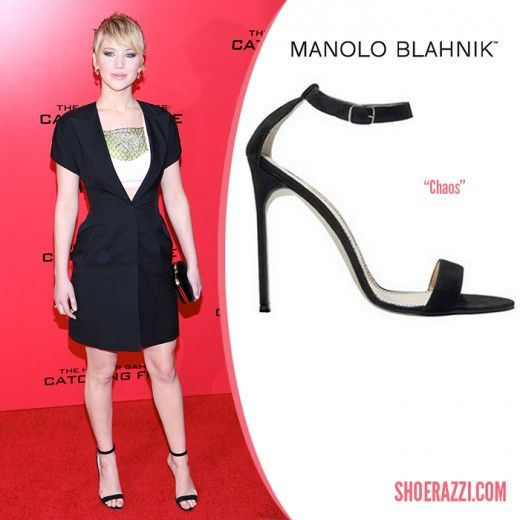 1dda58dd01f63 Manolo-Blahnik-Chaos-Sandal-Jennifer-Lawrence | Celebrity shoes ...
