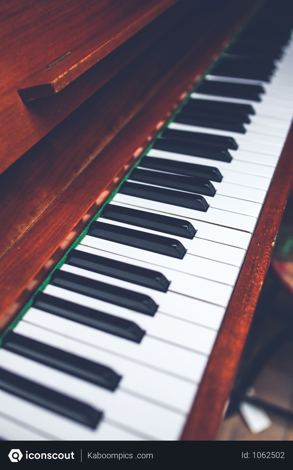 Free Closeup Shot Of Wooden Piano Keyboard. Photo download in PNG ...