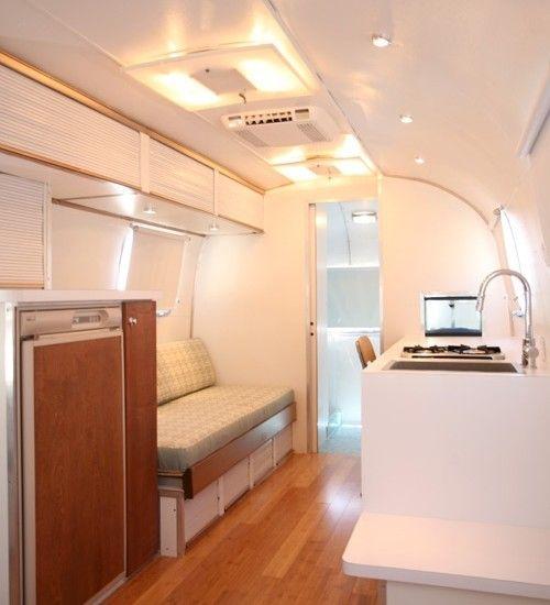 Pin By Sara Graff On Camping And Rvs Airstream Interior