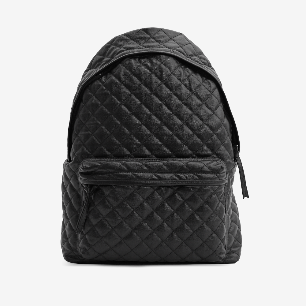 Quilted Leather Backpack BY Stampd