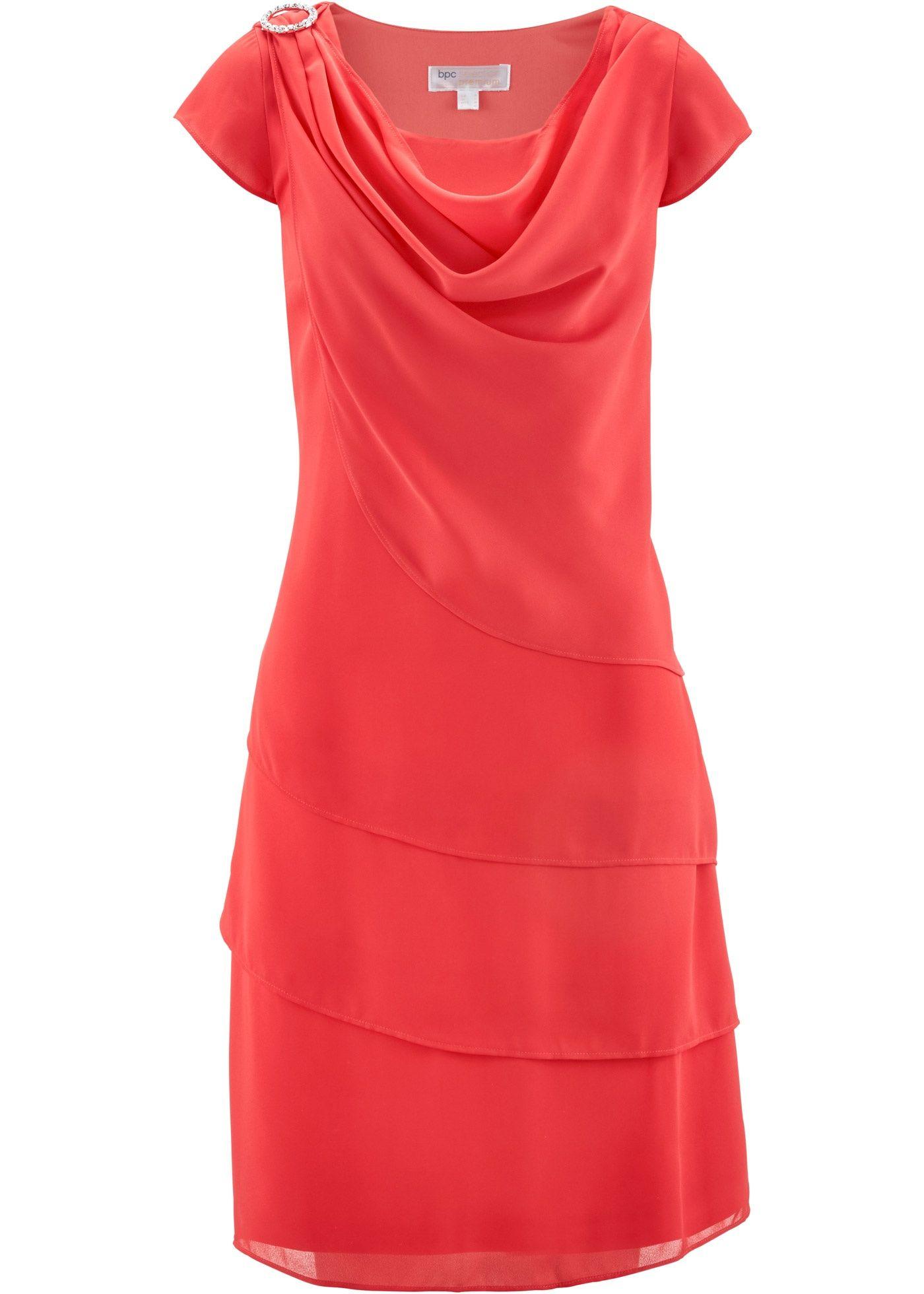 Chiffon kleid figurumspielend | Trendige Kleider für die ...
