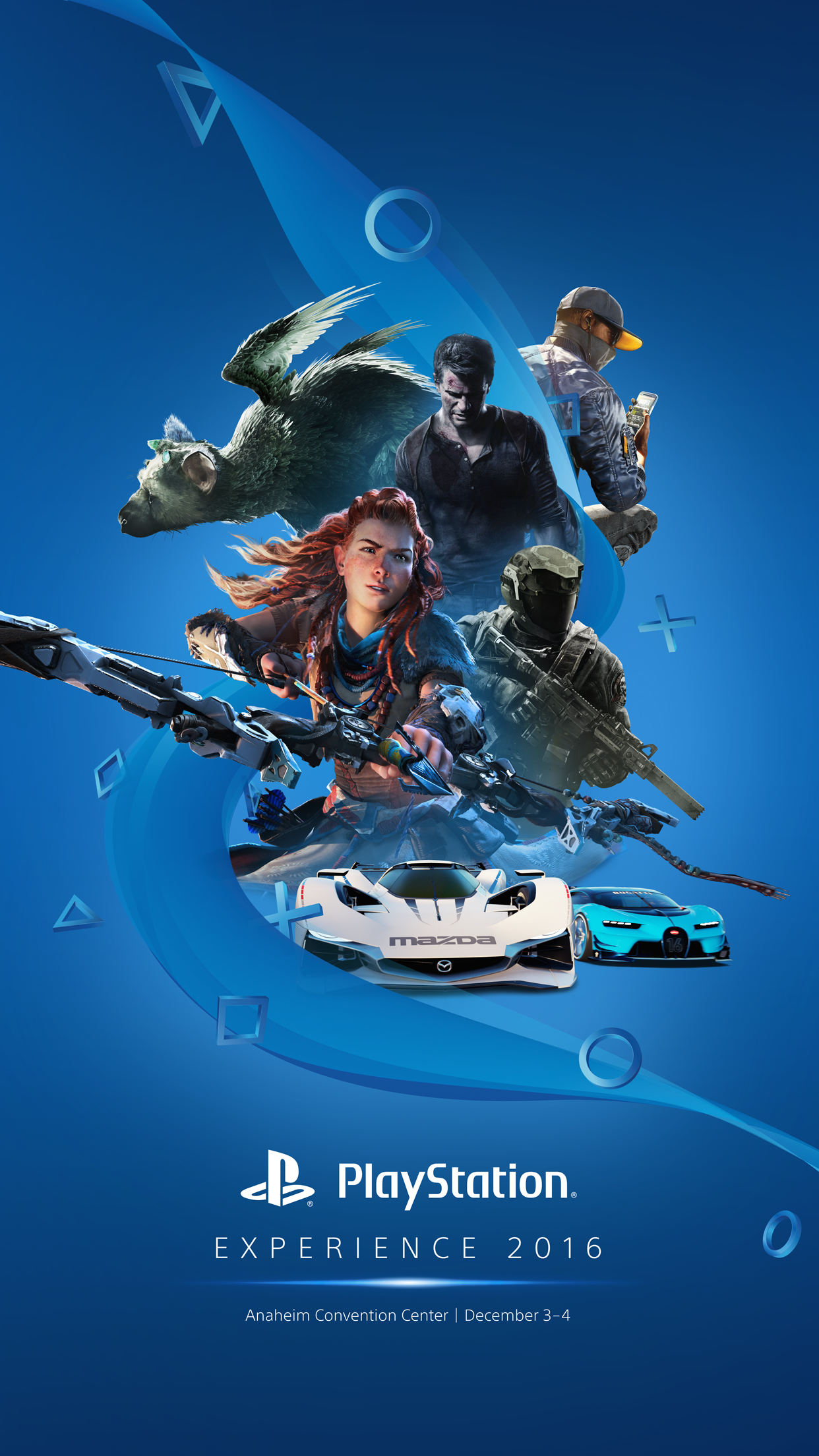 Playstation Contact Psx 2016 Official Phone Wallpaper Image Playstation4