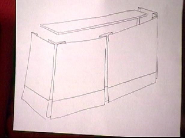 How to add pleats to a valance valance televisions and box for Window valance box