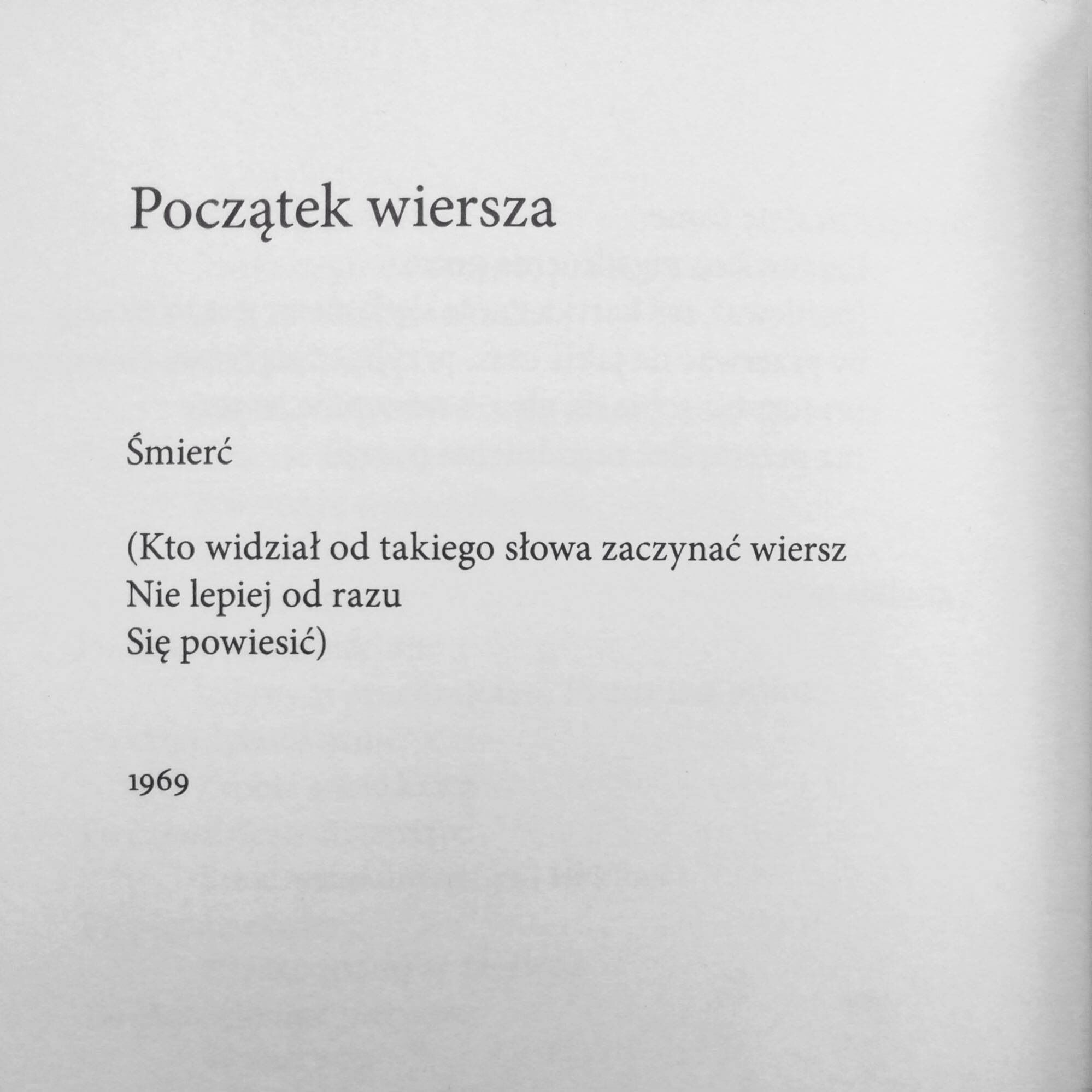 Rafał Wojaczek Poetry Inspiration Pretty Words Poem Quotes