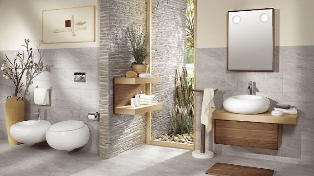 Image Ociée Natural Bathroom Modern Small Anese Cozy