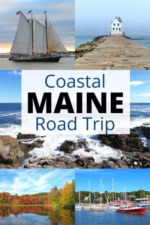 Maine Coastal Road Trip Adventure | Visit Acadia National Park, adorable seaside towns, eat fresh seafood, go fishing, camping, hiking, exploring the beauty of New England USA while on your amazing road trip | Maine Bucket Lists | Where to vacation in Maine | Midcoast Maine Roadtripping Fun #NewEngland #MidcoastMaine #Maine #roadtrip
