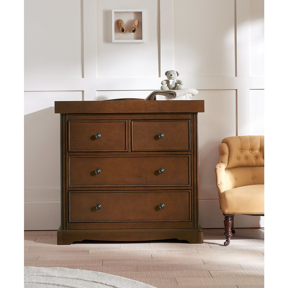 Mothercare Bloomsbury Changing Unit - Walnut | Baby ...
