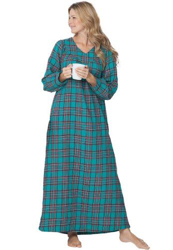 Flannel Nightgowns Plus Size Plus Size Petite Flannel Plaid