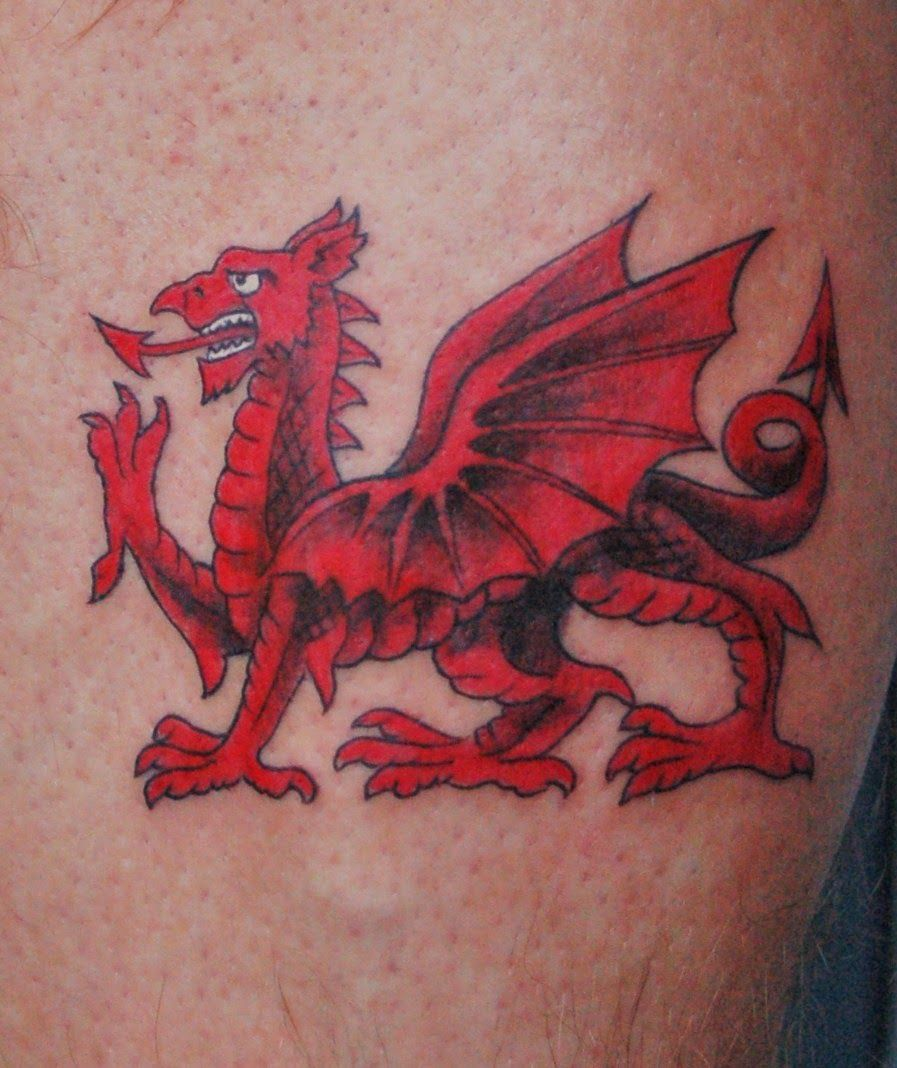 Welsh Tattoo Designs Picture Welsh Flag Tattoo