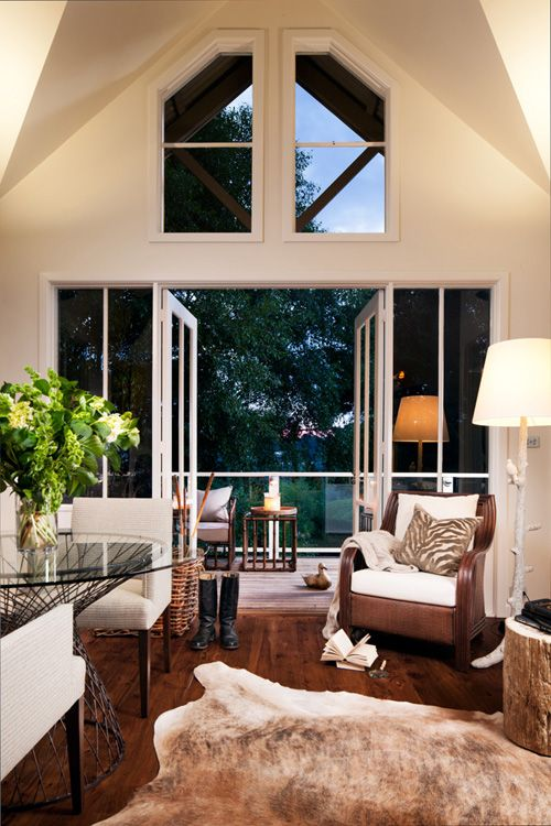 american safari inspired living room habitat Pinterest