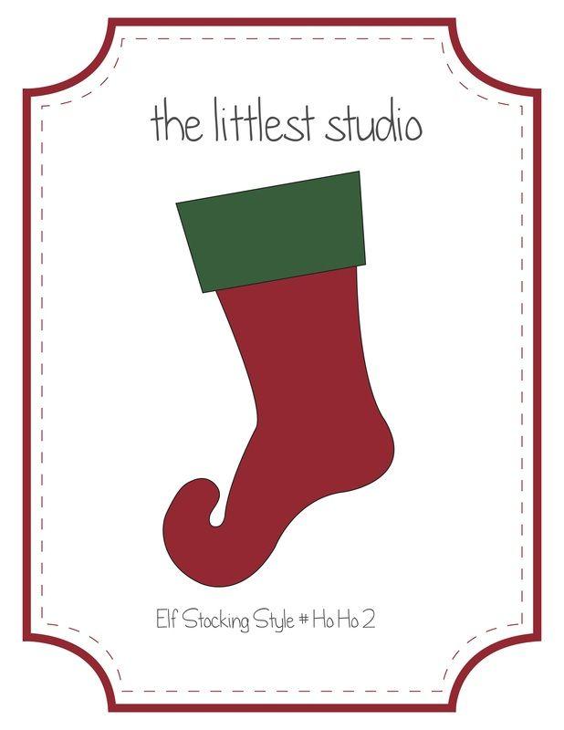 Free Elf Stocking Pattern! | Sew What? | Pinterest | Stocking ...