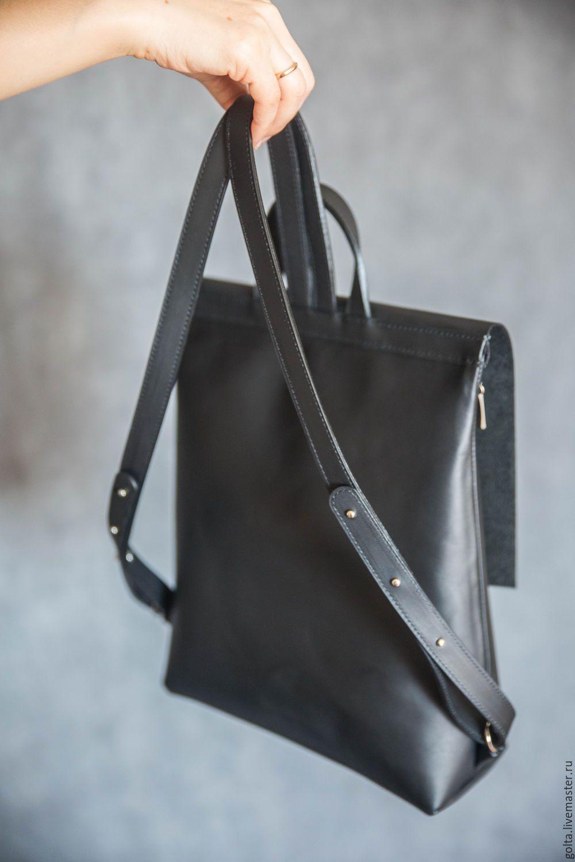 e9f082af60d4 Купить Рюкзак черный - черный, рюкзак, женский рюкзак, городской рюкзак, кожаный  рюкзак
