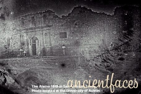 Oldest Known Photo Of Alamo 1845 Historical Pictures