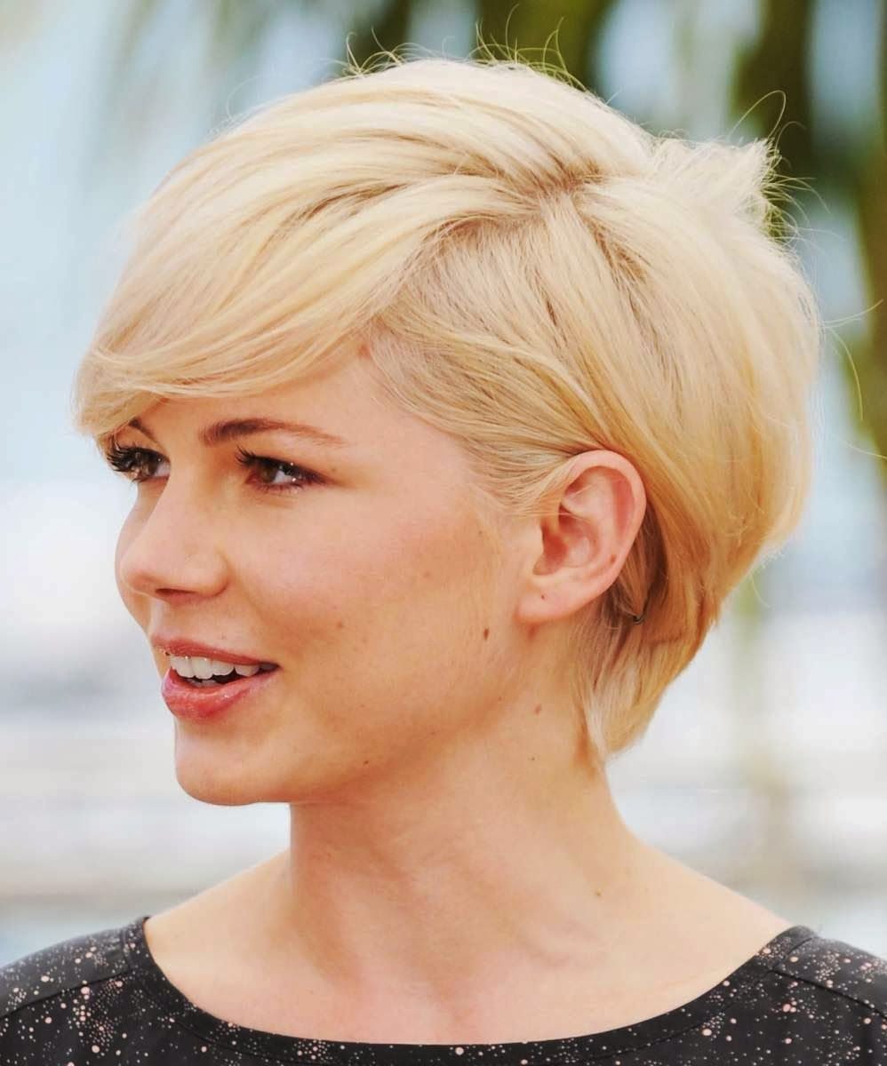 Hairstyles For Square Faces And Thin Hair Photo 15 Short Hair Styles For Round Faces Short Hair Trends Round Face Haircuts