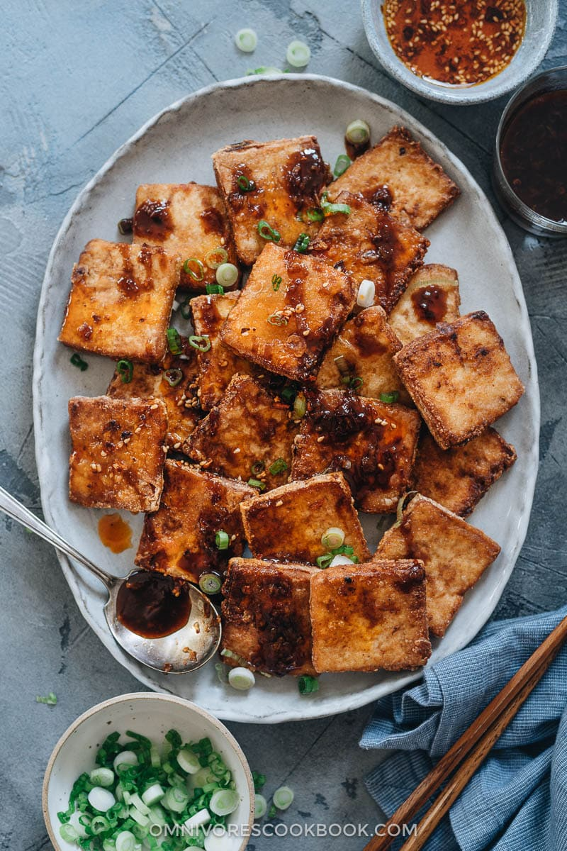 Crispy Marinated Tofu