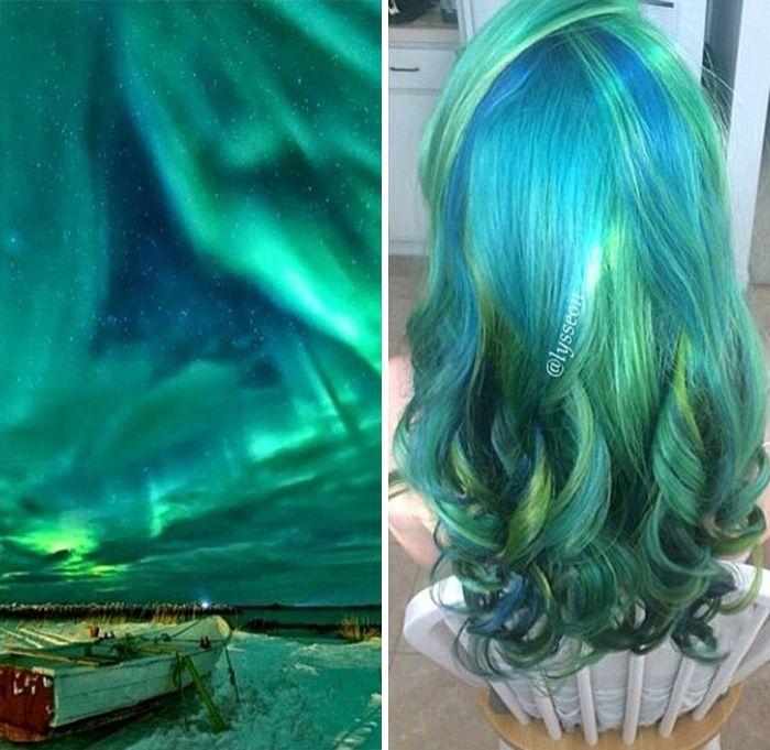 La Mode Des Couleurs De Cheveux Galactiques 2tout2rien Coiffure