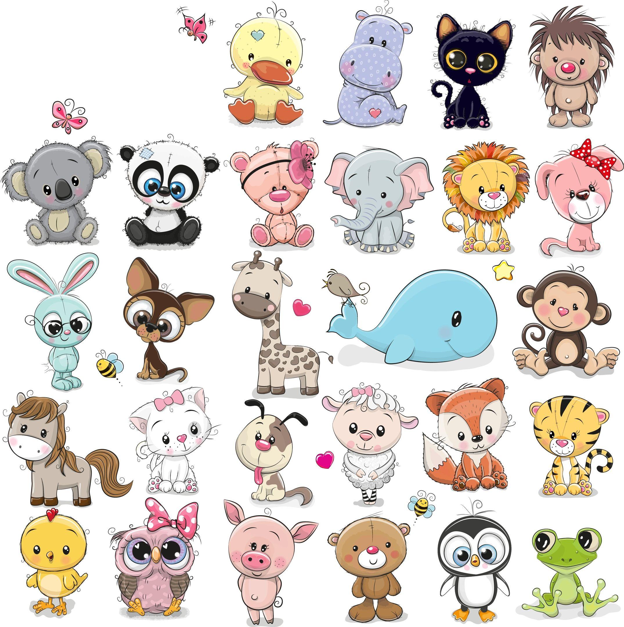 Novosti Dibujos De Animales Tiernos Dibujos De Animales Animales De Dibujos Animados Bonitos