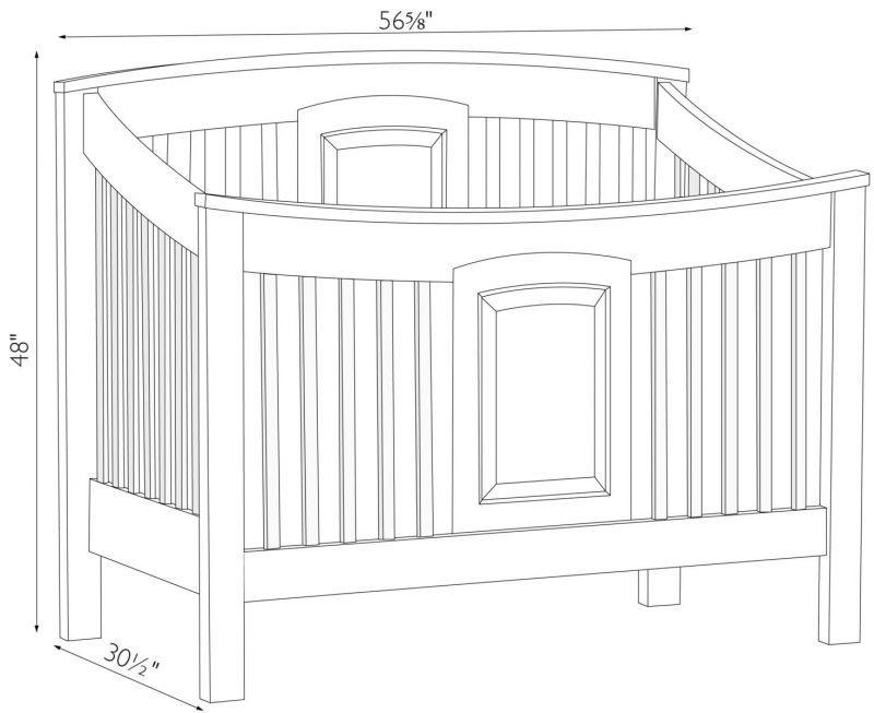 Changing Dresser Baby Crib Dimension 104 Baby Crib