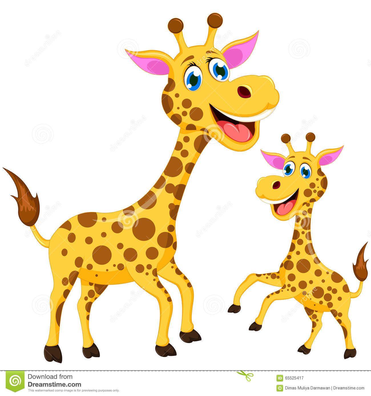 Illustration About Illustration Of Happy Cartoon Giraffe Illustration Of Character African Funny 65525417 Cartoon Giraffe Giraffe Giraffe Illustration