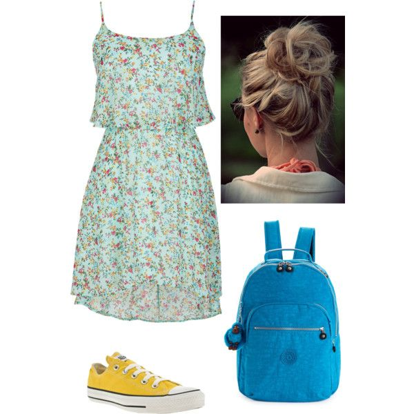 """""""Converse and Dress"""" by meredithpatterson on Polyvore"""