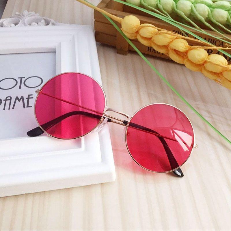 Homens e Mulheres Modelos de Óculos Retro Rodada Quadro Colorido Óculos de  Espelho Plano óculos de Sol Ao Ar Livre Feminino Masculino Clássico Do  Vintage ... 87aabb7722