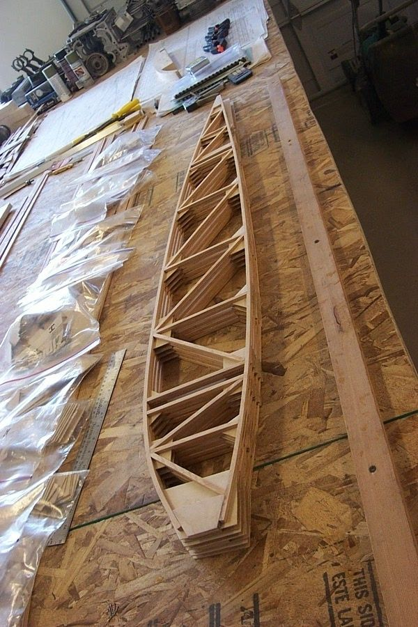 All Wood Airplane Wing Construction | Wooden Thing