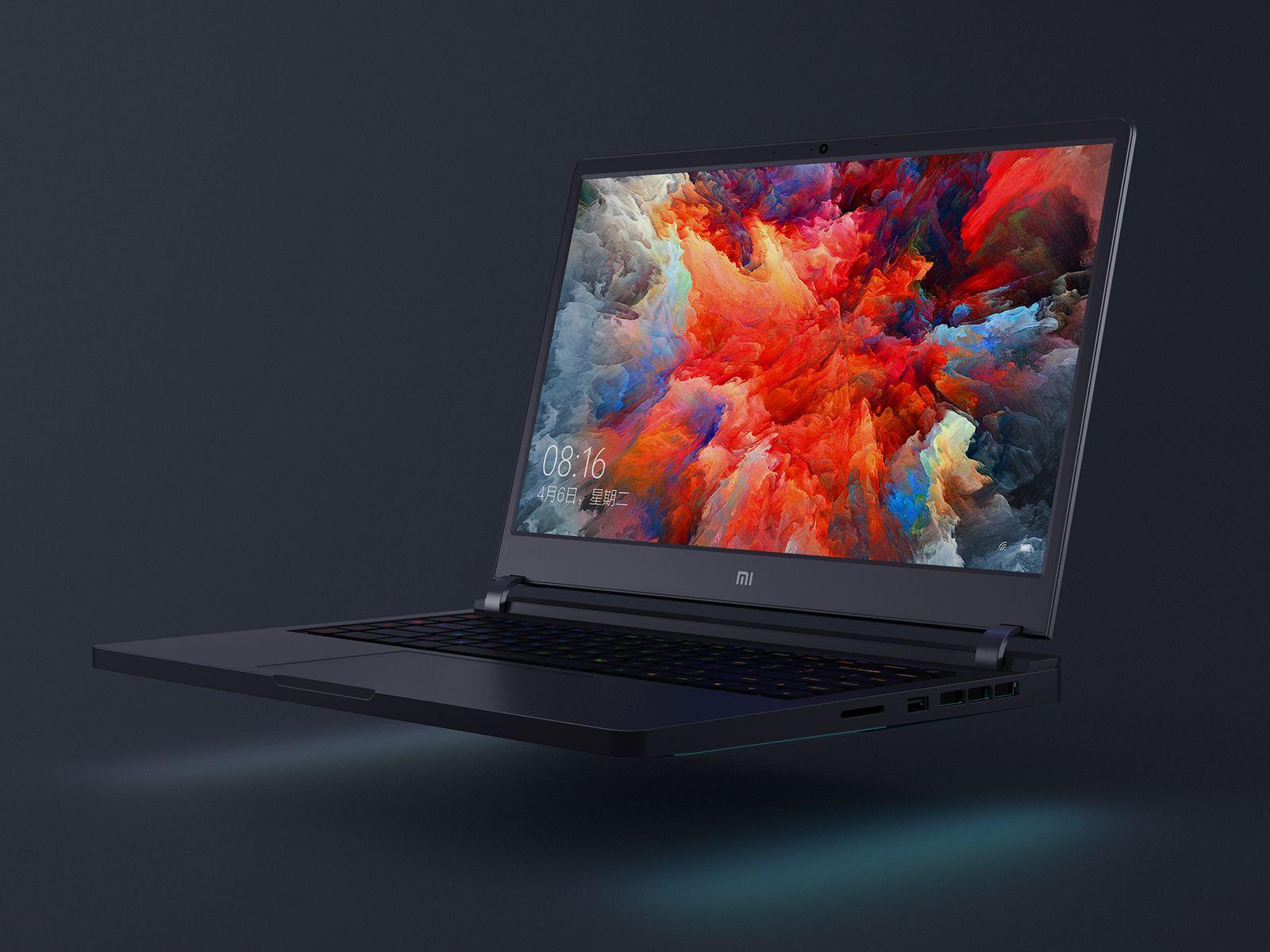 Xiaomi officially announced about the puter mobile games Xiaomi Mi Gaming Laptop Laptops xiaomi Xiaomi Mi