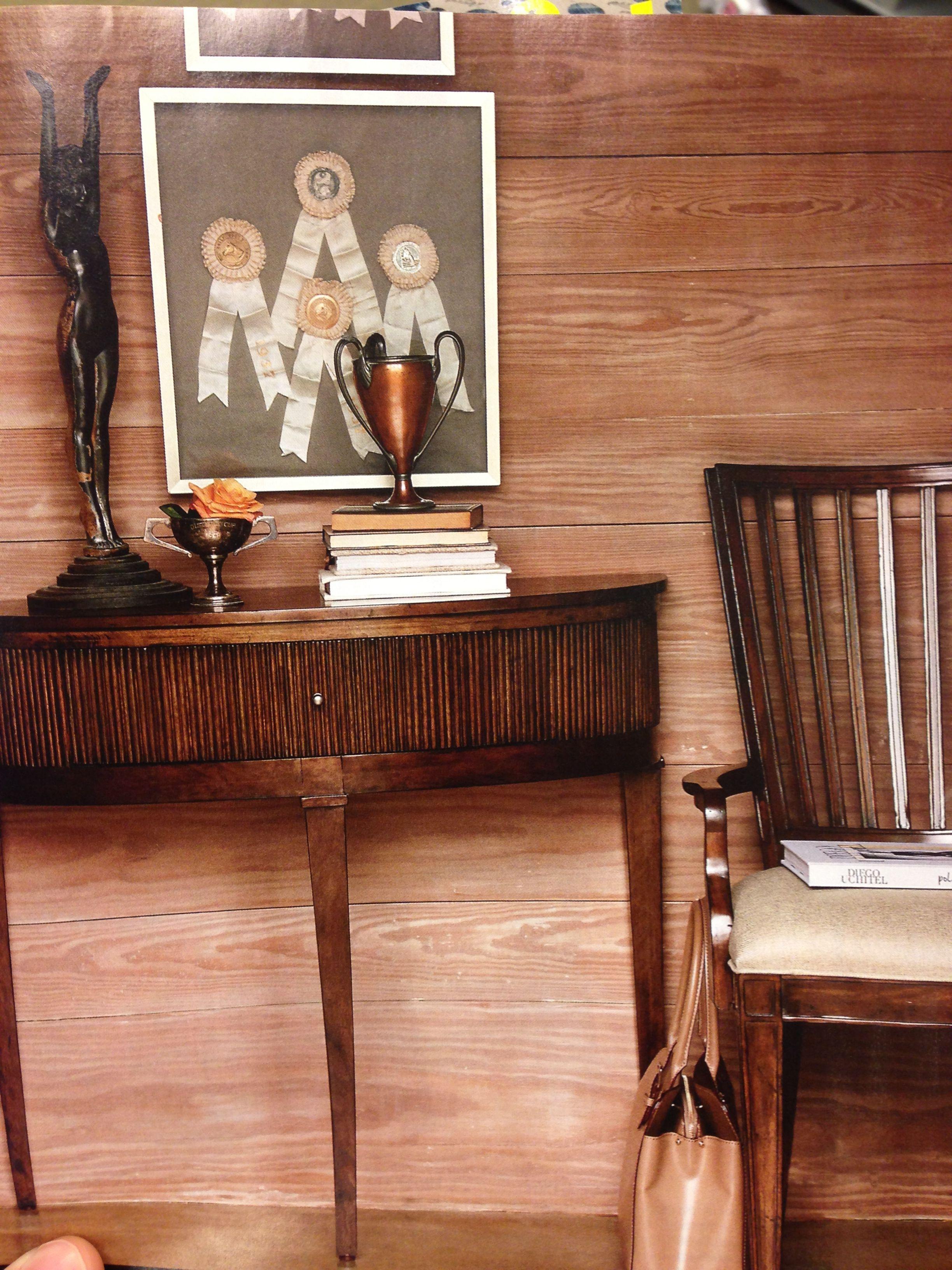 Wood wall. Use pine?