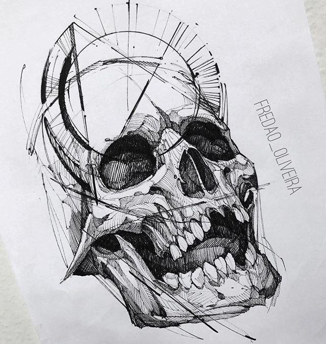 Ideas Tatuajes Calaveras 331 Sketch Tattoo Design Skull Tattoo Design Sketch Style Tattoos