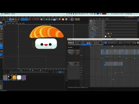 Cinema 4D Tutorial - Animate a Simple Character in C4D Part 1: Face
