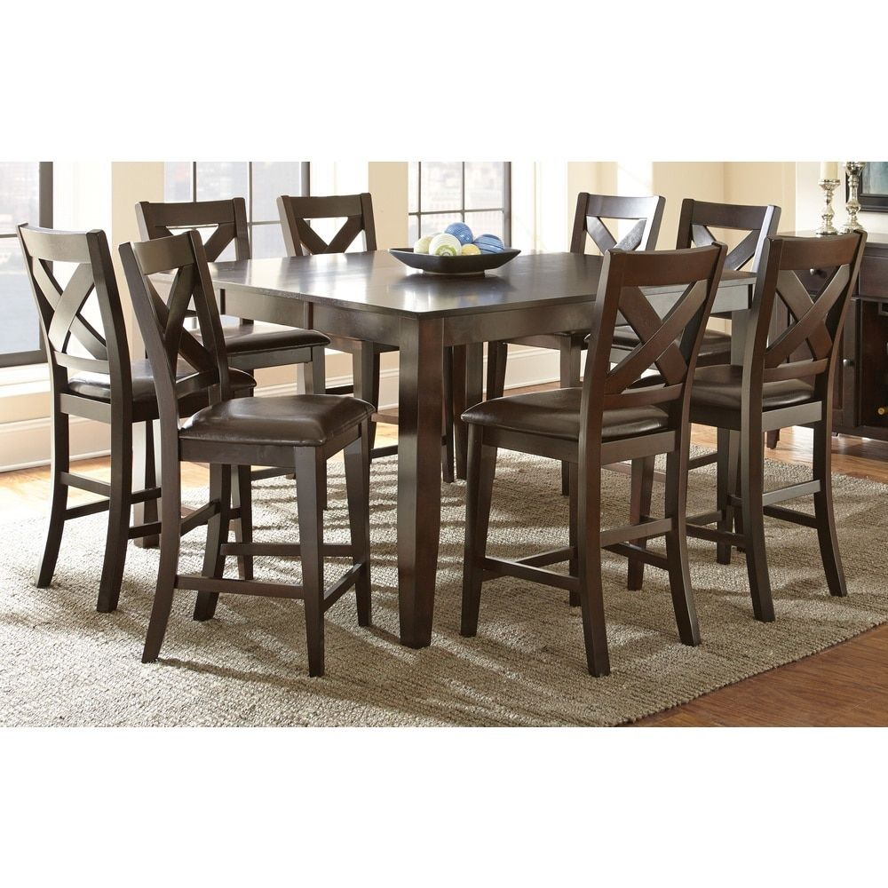 Greyson Living Copley Counter Height Dining Set with Self Storing