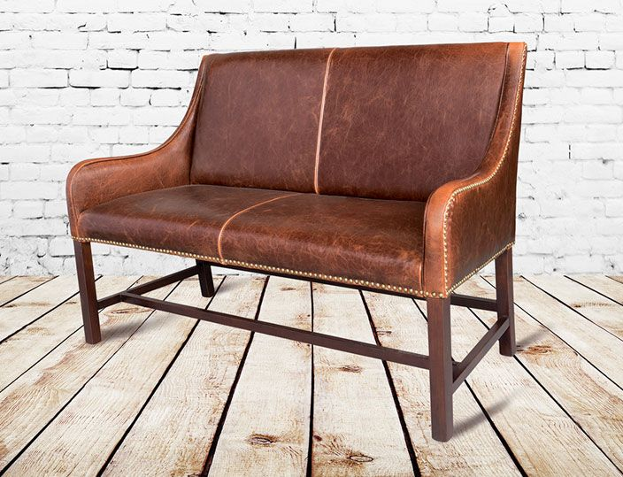Manchester Leather Settee Love This Especially For A