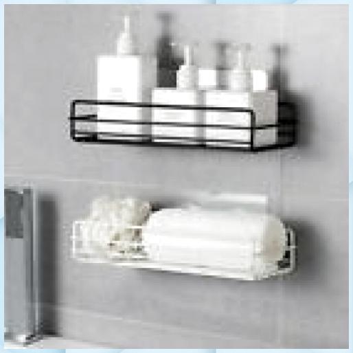 Neu Wandregal Kuche Bad Ablage Badregal Ohne Bohren Hal Ba In 2020 Makeup Storage Shelves Shower Shelves Storage Shelves