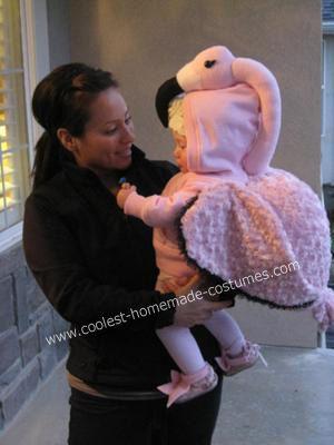 Coolest Baby Flamingo DIY Costume | Diy costumes, Flamingo and ...