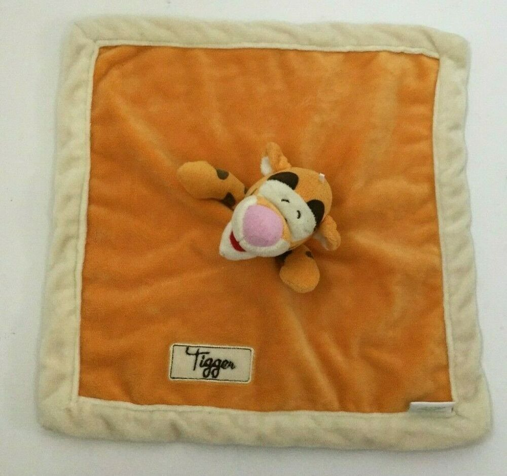 Tigger Disney Baby Lovey Orange Ivory Cream Velour Minky Plush Security Blanket #Kidsline #securityblankets Tigger Disney Baby Lovey Orange Ivory Cream Velour Minky Plush Security Blanket #Kidsline #securityblankets