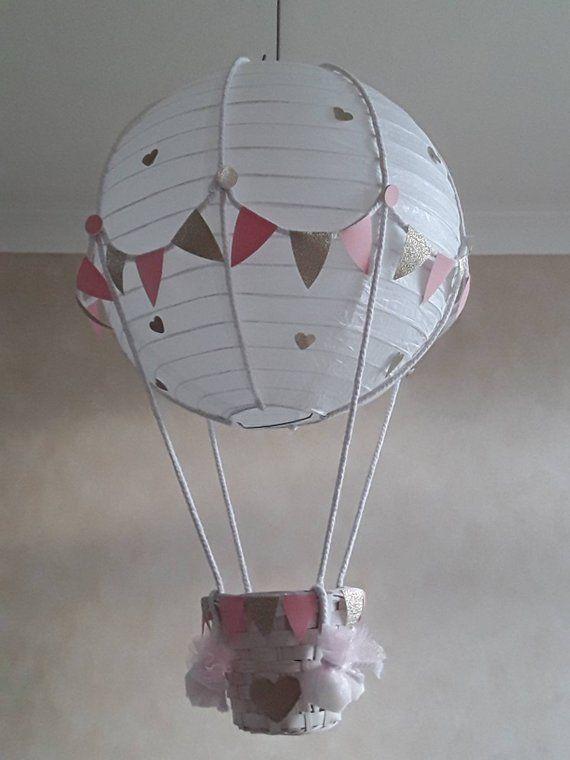 Fügen Sie Ihr eigenes Spielzeug Hot Air Balloon Nursery Licht Schatten / Made To Order