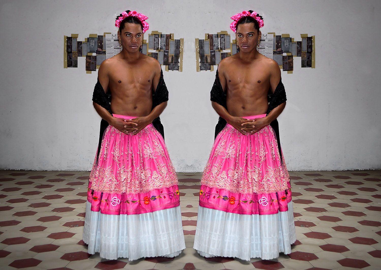 Lukas Avendano- Mario Patino - Muxhe - Muxe - Performance Art - Arte ...