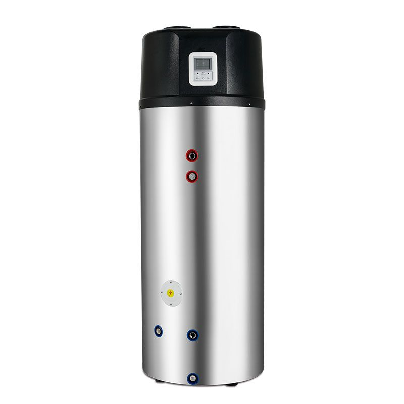 Energy Saving All In One Heat Pump Water Heater Storage Water Tank Volumes 200l 250l 300l Easy To Instal Heat Pump Water Heater Heat Pump System Heat Pump