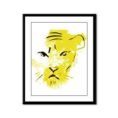 Big Cat Framed Panel Print> CARDS, POSTERS & PRINTS> 22FISH22 graphics and fine art