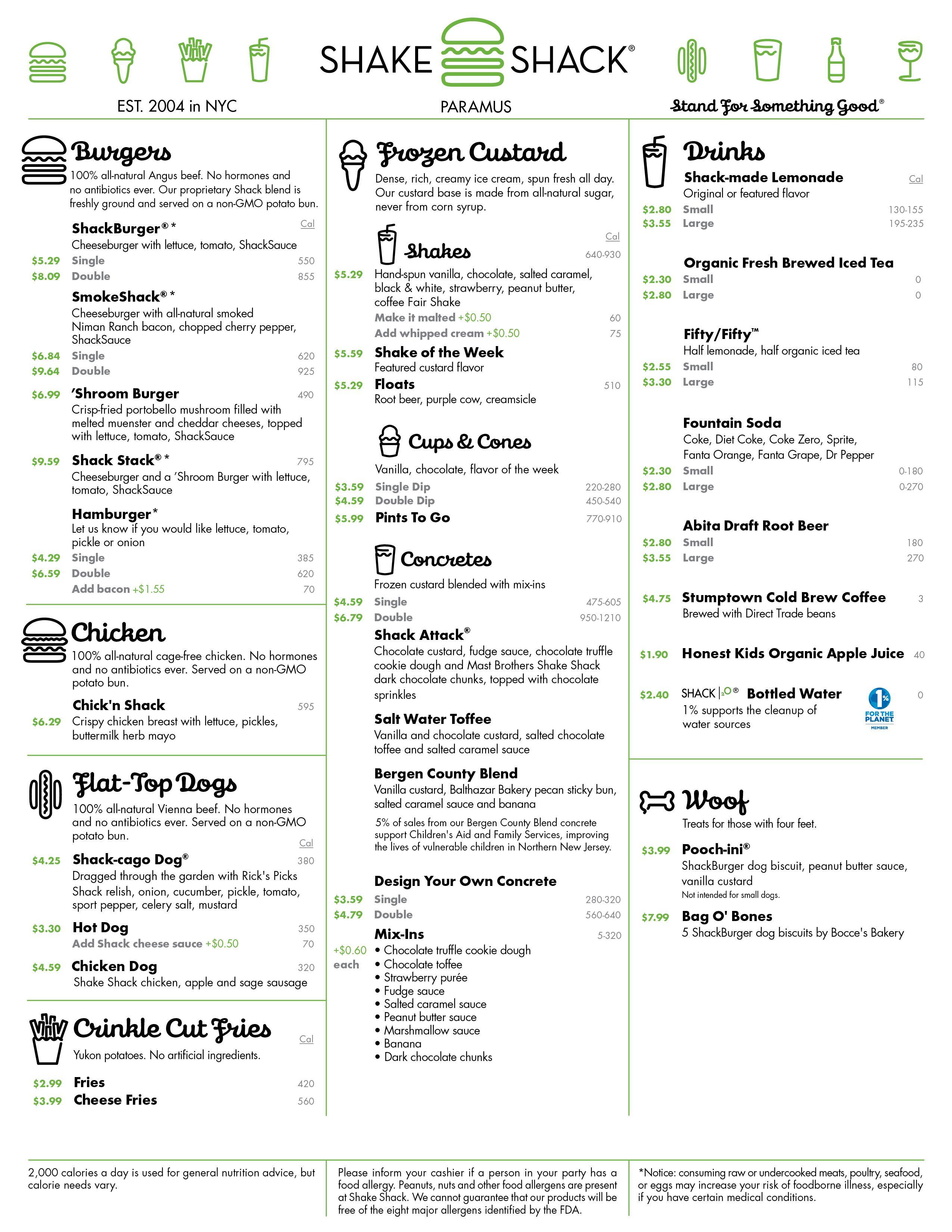 Shake Shack on Rt 17, Paramus | Bergen County Eats | Pinterest ...