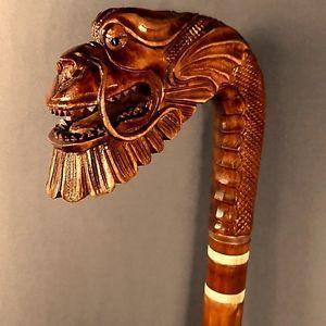 Image result for carved walking sticks