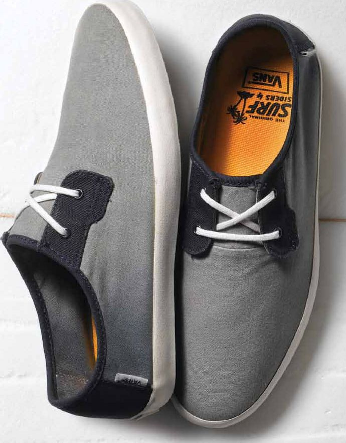 Guy fashion · Ombre Surf Siders // Vans