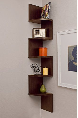 Ridgeway Corner Wall Shelf is part of Ikea Living Room Shelves - Creatively designed, the Ridgeway Corner Wall Shelf is a great option to spice up the style quotient of your home  Simple yet chic, this stand is crafted precisely to fit in any corner of the room  The sleek features and immaculate lines of this shelf make it a great fit against any background  The Ridgeway Corner Wall Shelf shelf by Wade Logan is made out of combining laminate and mediumdensity fiberboard  It comes in various finishes to suit every possible room decor  These finishes give you the option of picking the perfect one in compliance with your existing decor  The irregular shape and offbeat design of this shelf are sure to make it a stand out piece in your room  Mount this shelf according to your convenience and decorate it with your favorite memorabilia  You can add some ornate candles, potpourri or charming decor pieces on this shelf to multiply its beauty  The Wade Logan Ridgeway Corner Wall Shelf is Lacey Act Compliant, which makes sure that no plants are destroyed in the construction process  This shelf requires assembly and can be easily put together by using a simple screwdriver