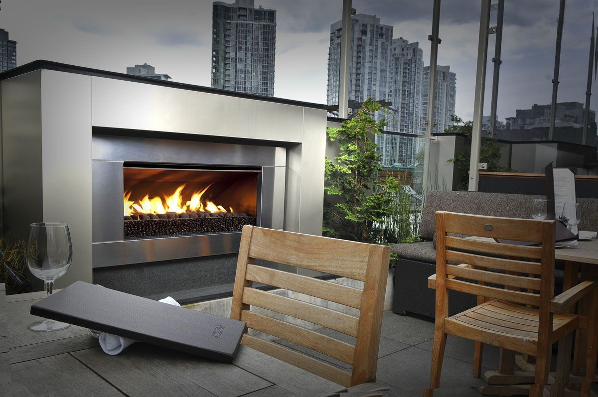 Fireplace | outdoors | Pinterest | Modern fireplaces, Gas fires and ...