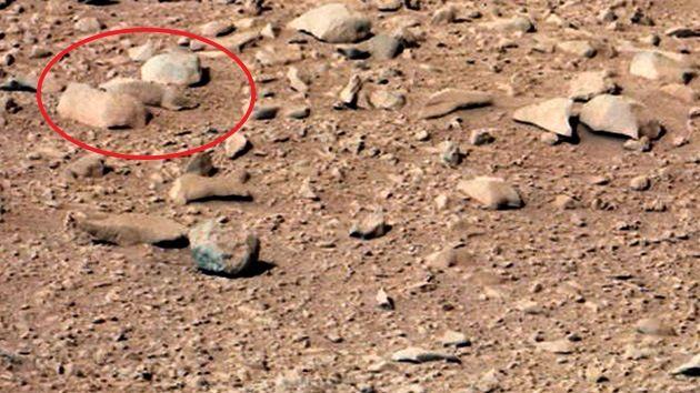 El Curiosity descubre una rata en Marte, ¿otro caso de pareidolia? – RT
