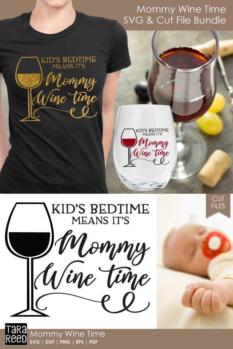 7fa80291908 Mommy Wine Time - Wine SVG and Cut Files for Crafters | SVG files ...