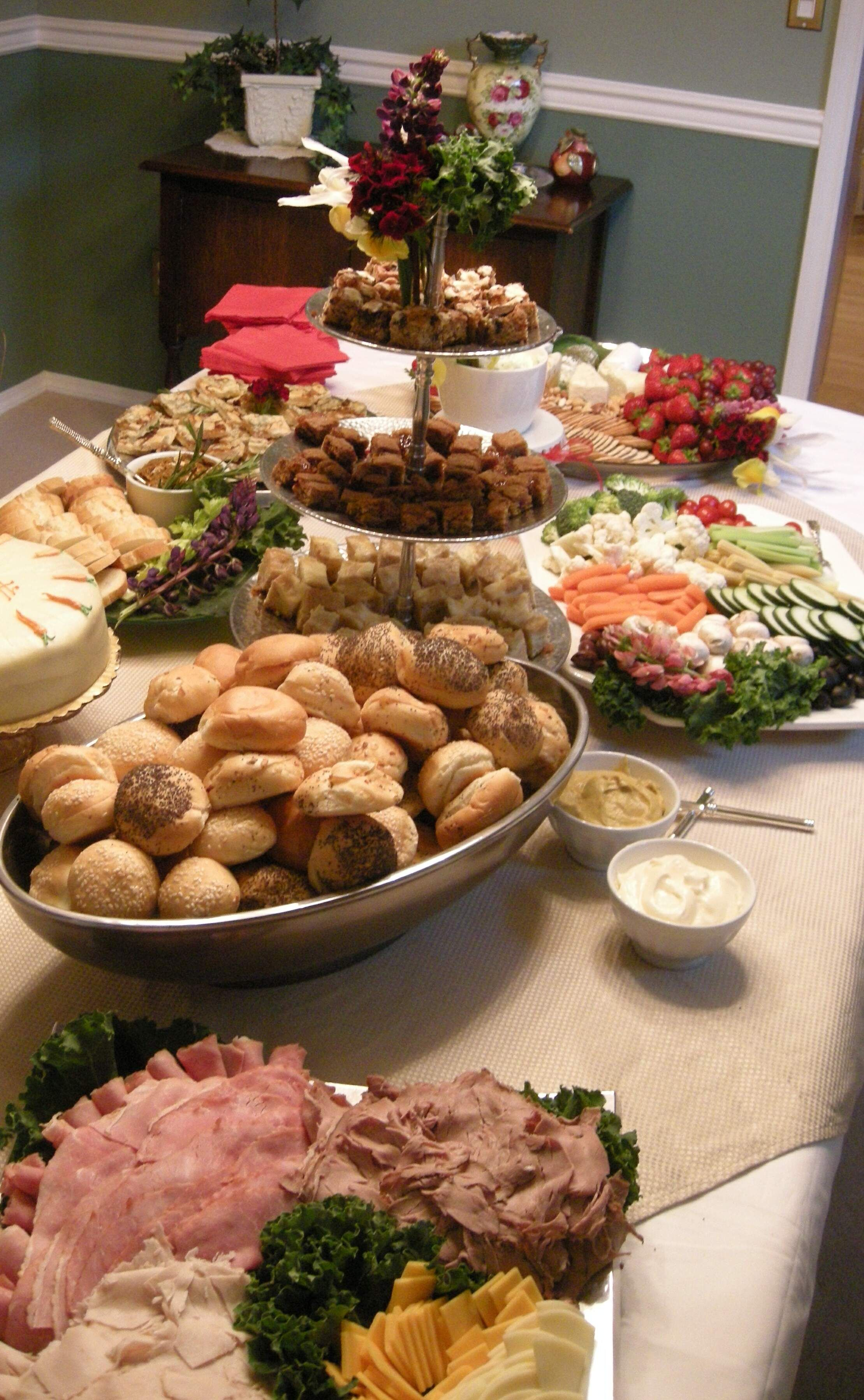 Open House In Home Buffet Open house party food
