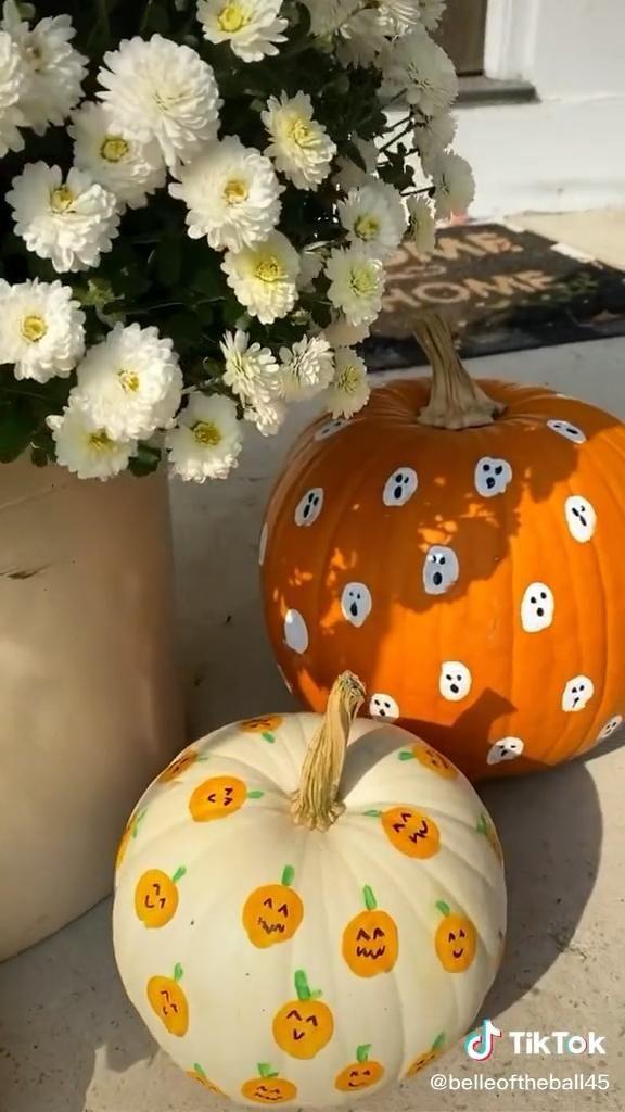 The cutest pumpkin craft for kids!