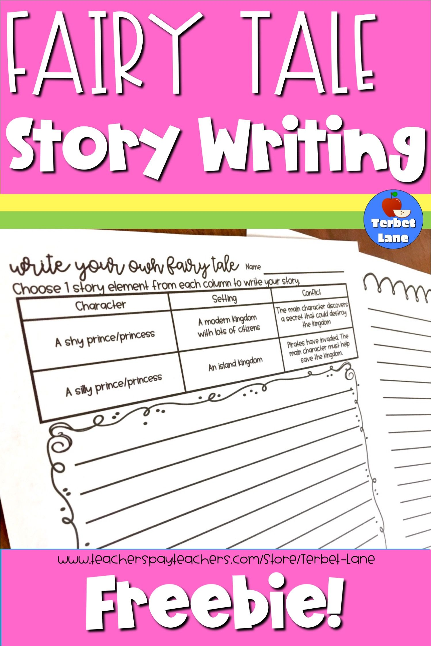 Free Fairy Tale Story Writing Worksheets